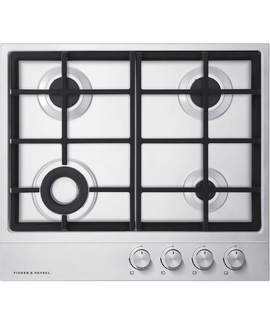 Fisher & Paykel CG604DX1 Gas On Steel Cooktop 60cm