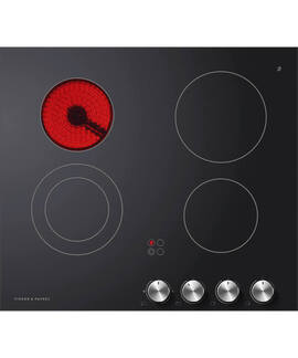 Fisher & Paykel CE604CBX2 60cm Electric Cooktop