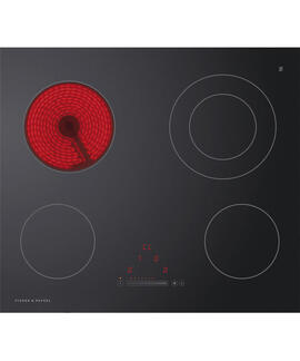 Fisher & Paykel CE604DTB1 60cm 4 Zone Electric Cooktop